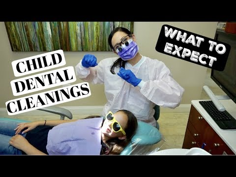 What is Really Happening at Your Child's Dental Cleaning