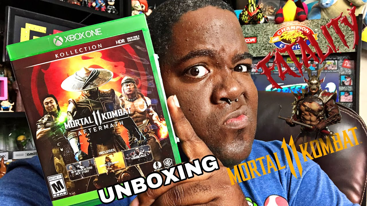 Mortal Kombat 11 Aftermath Kollection Xbox One Unboxing Youtube