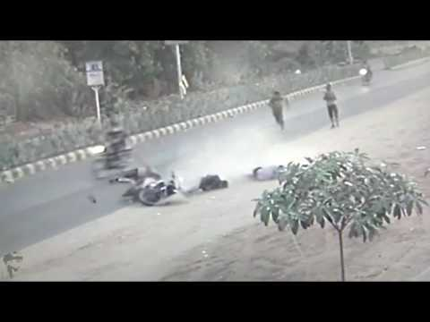 Ahmedabad cctv Accident