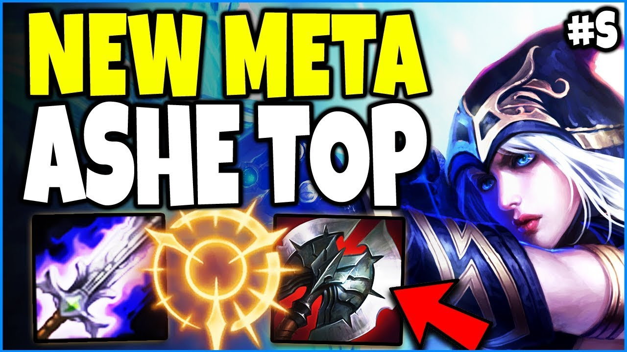 New Meta Ashe Top Lane Season 9 Build Carry Them All With The Most Op Ashe Bronze To Diamond Ep S Youtube