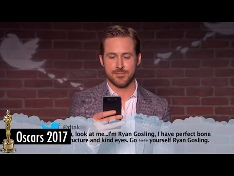 Mean Tweets 2017 Oscars Edition featuring Ryan Gosling and Emma Stone from La La Land