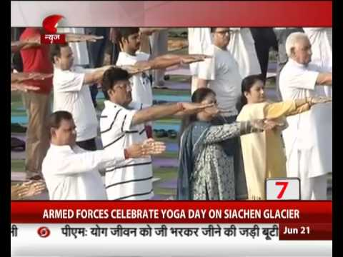 Union Ministers participate in Yoga Day & other 15 headlines