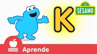 Sésamo: Comegalletas y la letra K