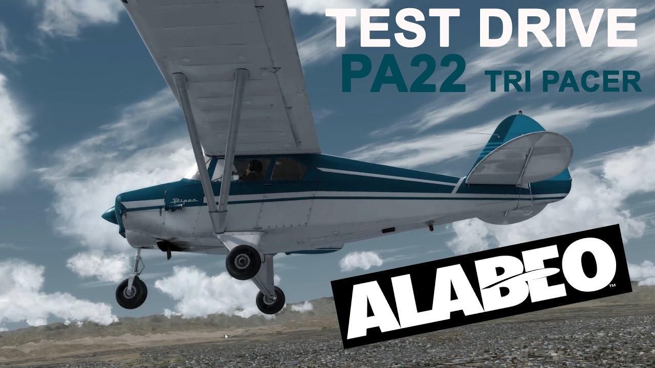 Test Drive | Alabeo PA22 TRI PACER | Prepar3D V3 | 4k
