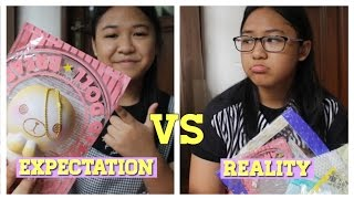 EXPECTATION vs REALITY SQUISHY COLLECTOR!