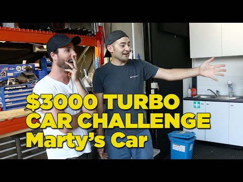 $3000 Turbo Car Challenge - Marty's Car