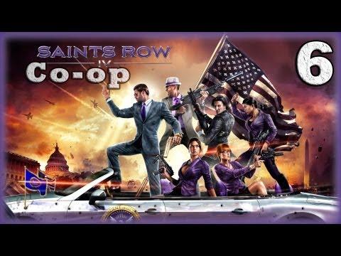 Смотреть прохождение игры [Coop] Saints Row IV. Серия 6 - Dubstep gun. [16+]