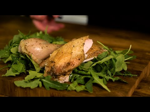 Курица под коркой из соли