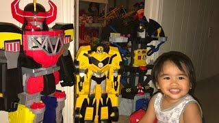 Bumble bee, Power Ranger, Batcave Robots
