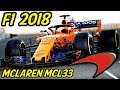 F1 McLaren MCL33 Analysis - Lets Talk F1 2018 (McLaren Renault 2018)