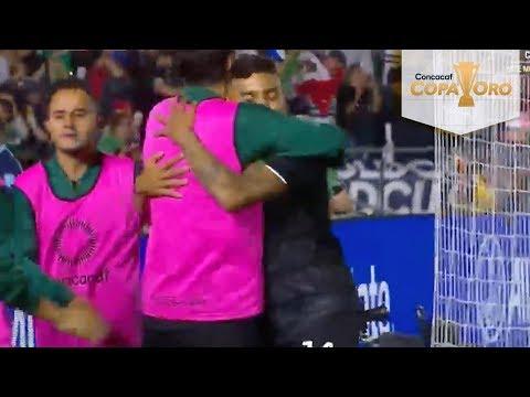 Gol  de Alexis Vega | México 6 - 0 Cuba | Copa Oro | Televisa Deportes