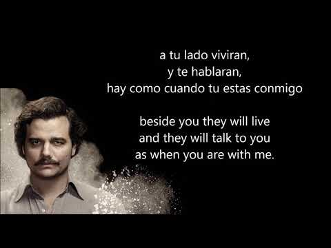 NARCOS - Dos Gardenias - Angel Canales (With Spanish and English lyrics) [Translated]