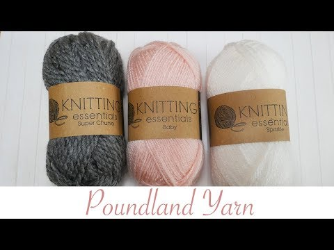 Let S Talk About Poundland Yarn Is It Any Good Youtube