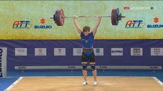 2017 European Weightlifting Championships Women 58 kg \ Тяжелая атлетика Чемпионат Европы [1080]