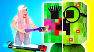 From NERD to POPULAR in Minecraft SCHOOL  Tiktok VS Reality | Funny Struggles by La La Life Games