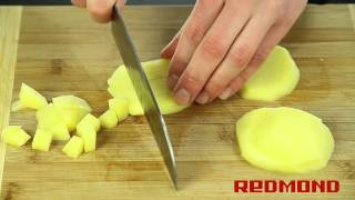 Рецепты от Redmond: Суп-пюре грибной (Мультиварка RMC-M4504)