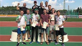 Югорский параспортсмен Максим Бган стал чемпионом России в метании молота