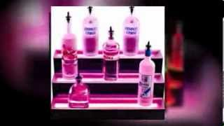 3 Tier Led Lighted Liquor Bottle Display Shelf By Armana Productions Video