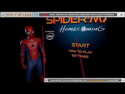 Made by McLean Live- Spider-Man: Homecoming Virtual Reality Experience
