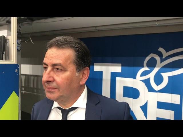 Coach De Giorgi commenta Gara 3 a Trento