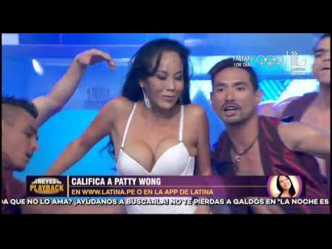 Patty Wong impactó con el playback Gangnam style