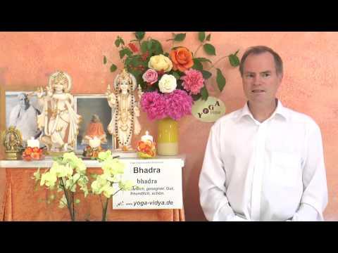 Bhadra - Segensreich - Sanskrit Wörterbuch
