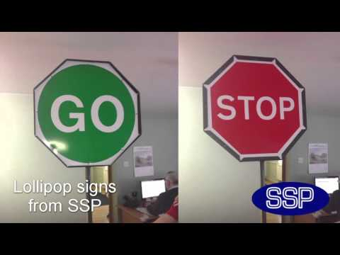 Lollipop Signs from SSP