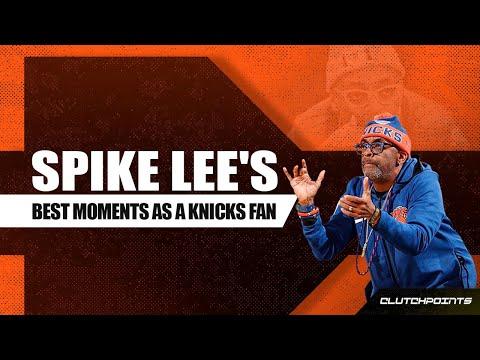 Spike Lee's Best Moments As A Knicks Fan