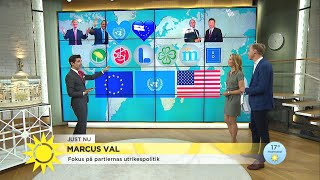 Frågan som skiljer som skiljer SD från Alliansen - Nyhetsmorgon (TV4)