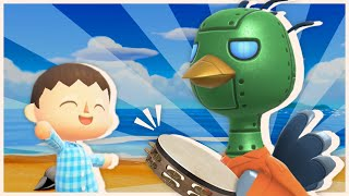 Robot Bird Plays a Mean Tambourine in Tanooki Town!