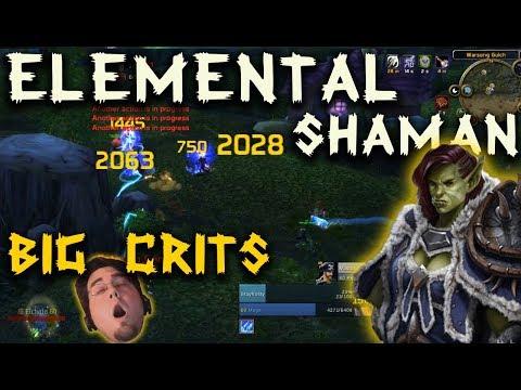 Elemental Shaman PvP Clips | Classic WoW | 60 Orc Shaman