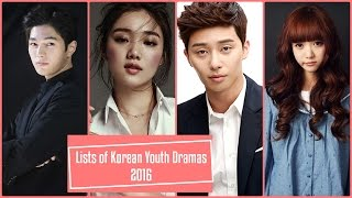 Video Lists of Korean Youth Dramas 2016 download MP3, 3GP, MP4, WEBM, AVI, FLV Juli 2018