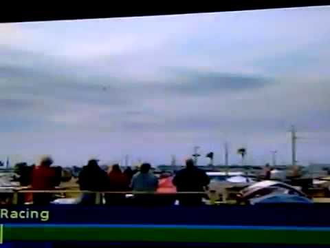 UFODI News: UFO Zapps Through Two Jet Fighters During Nascar Open Airshow