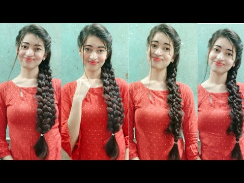 kurti-hairstyles-for-long-hair-|-new-&-unseen-side-braid-hairstyles-for-long-hair