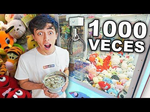 JUGAMOS 1000 VECES A UNA MAQUINA DE PREMIOS