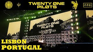 Twenty One Pilots - Lisbon, Portugal - The Bandito Tour - Full Show & The Regretts - 17/03/2019