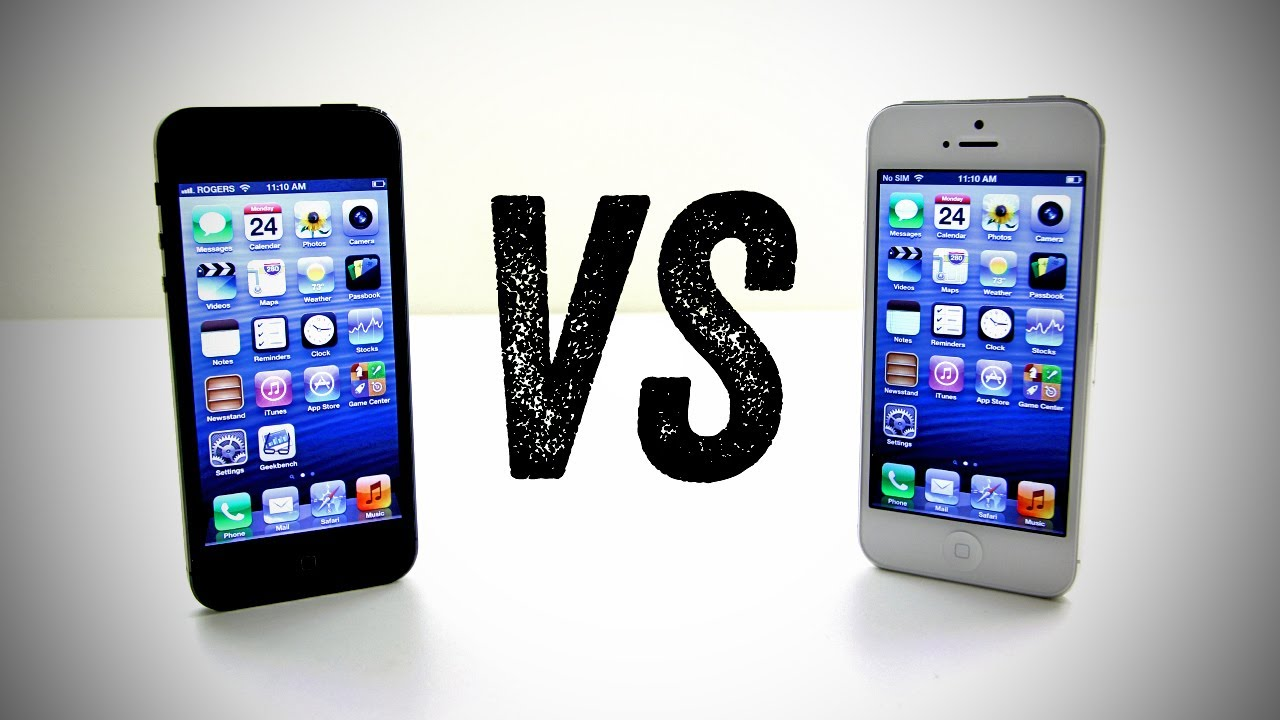 buy popular c1e2f 252fa iPhone 5 Black vs iPhone 5 White (Should you buy the iPhone 5 Black or  White?)