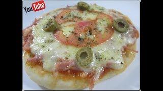 🍕🍅🍕Massa Super Econômica para Mini Pizza,Pizza,Como Montar e Congelar com Déby & Ian🍕🍅🍕