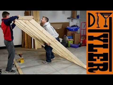 Building the NEW DIYTyler Shop!!! Walls   Insulation and Shop Layout