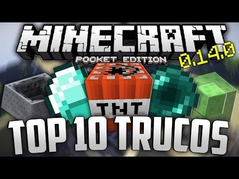 TOP 10 TRUCOS ÉPICOS PARA MINECRAFT PE 0.16.0
