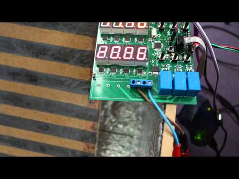 Prototype mushroom growth controller with graphene heating element