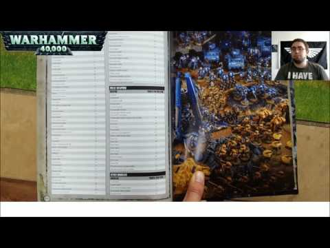 Warhammer 40k 8th Edition Imperium 1 Index Review Part 1(Timestamped)