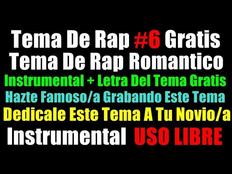 Olvidate De Mi - instrumental de rap romantico con coro - base rap romantico