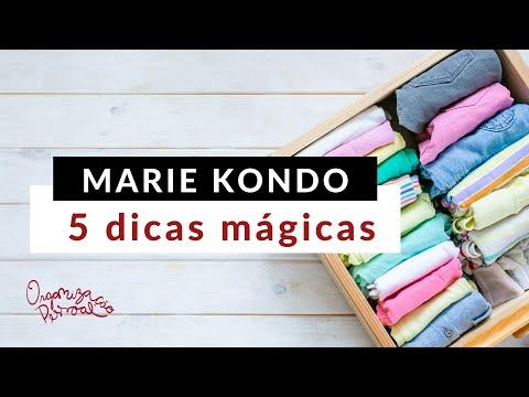 5 dicas mágicas de organização da Marie Kondo para nossa casa!