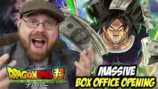 Dragonball Super: Broly Massive Box Office Opening!!!
