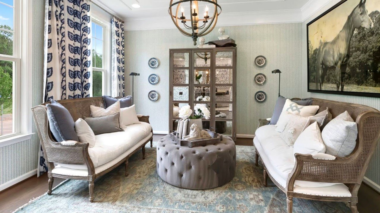 45 French Country Living Room Ideas