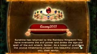 Rainbow Web game ending