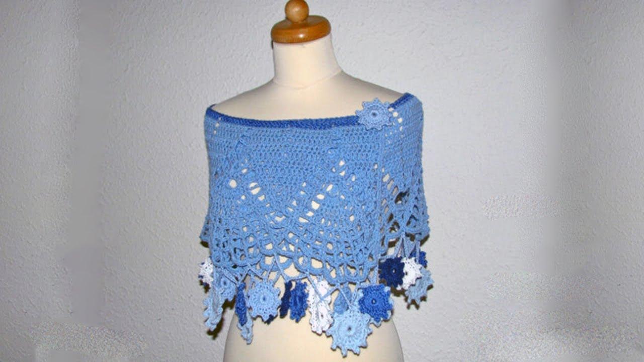 Free Simple Crochet Poncho Easy Crochet Poncho For Child
