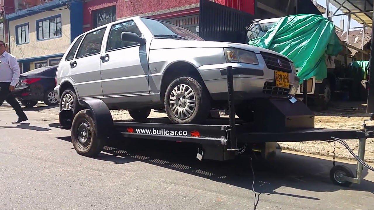 Remolque para transporte de motos cuatrimotos buggis y for Carretilla de mano segunda mano