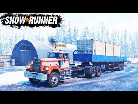 SnowRunner 2020 - Прошел Карту (SpinTires, MudRunner) Аляска #17